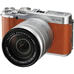 X-A2 Mirrorless Digital Camera with 16-50mm Lens